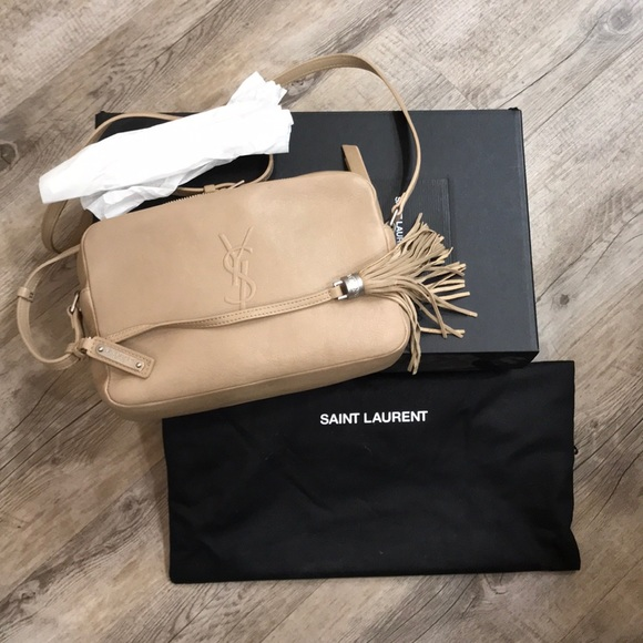 YSL LOU CAMERA BAG IN SMOOTH LEATHER